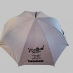 Paraplu-grijs-zwart