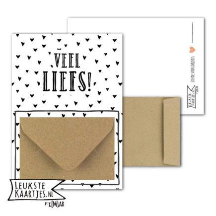 Geldkaartje met envelopje
